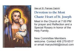 St Joseph Devotions