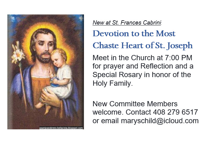 St Joseph Devotions
