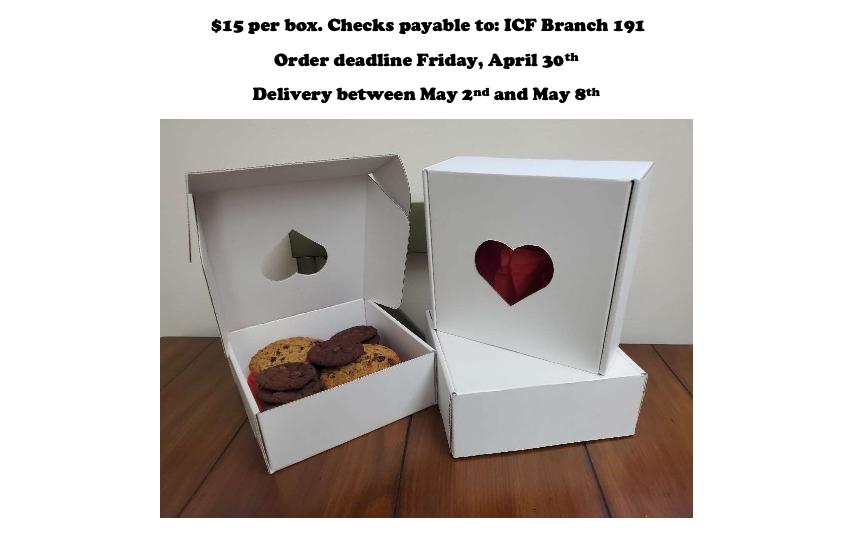 SFC cookie fundraiser