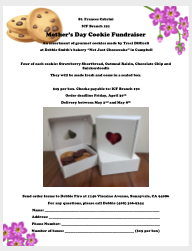Cookie Fundraiser 2021